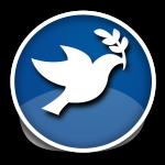 The pidgin of peace - Friedenstaube